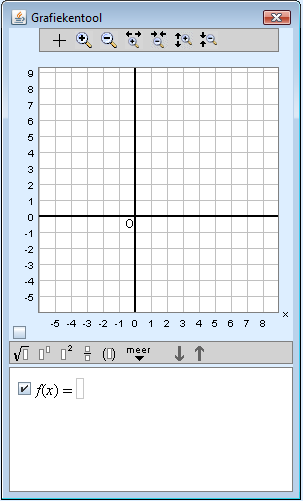 image of empty graph tool