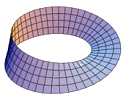 Image of a Möbius band